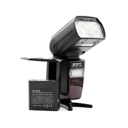 Вспышка для фотоаппаратов Nikon и Canon - TRIOPO G1800 с TTL и встроенным синхронизатором и аккумулятором, фото 2