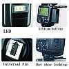 Вспышка для фотоаппаратов Nikon и Canon - TRIOPO G1800 с TTL и встроенным синхронизатором и аккумулятором, фото 5