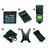 Вспышка для фотоаппаратов Nikon и Canon - TRIOPO G1800 с TTL и встроенным синхронизатором и аккумулятором, фото 6