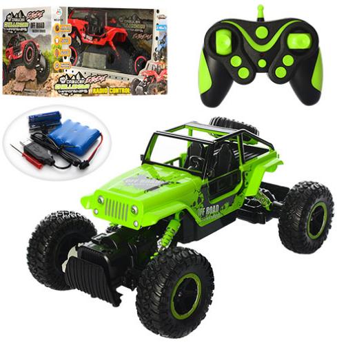 Внедорожник с большими колесами на радиоуправлении Diancheng Toys Rock Crawler 0136 (2 цвета)