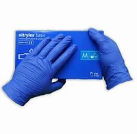 Защитные перчатки нитриловые Nitrylex Basic (Размер M)