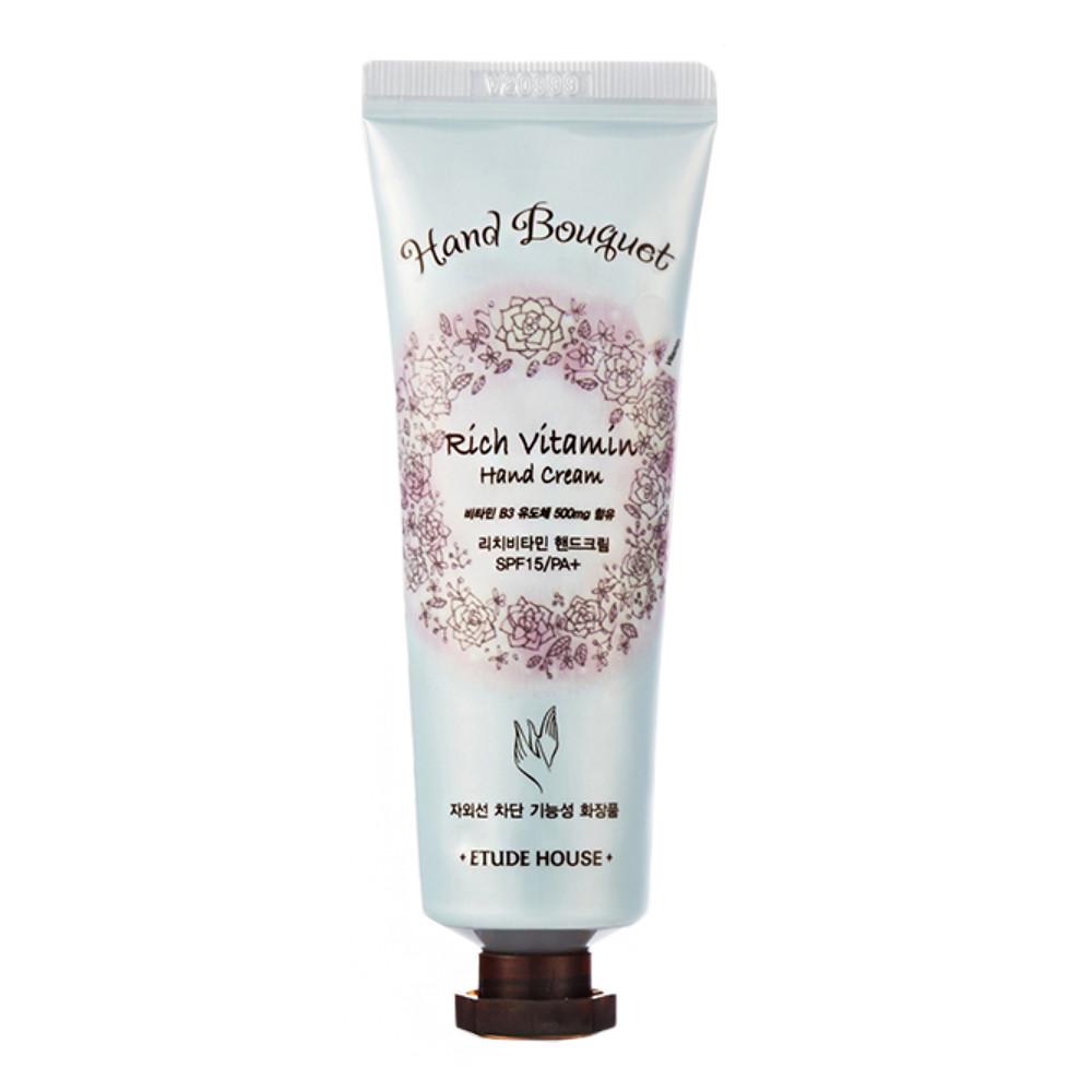 Увлажняющий витаминный крем для рук Etude House Hand Bouquet Rich Vitamin Hand Cream 50 мл