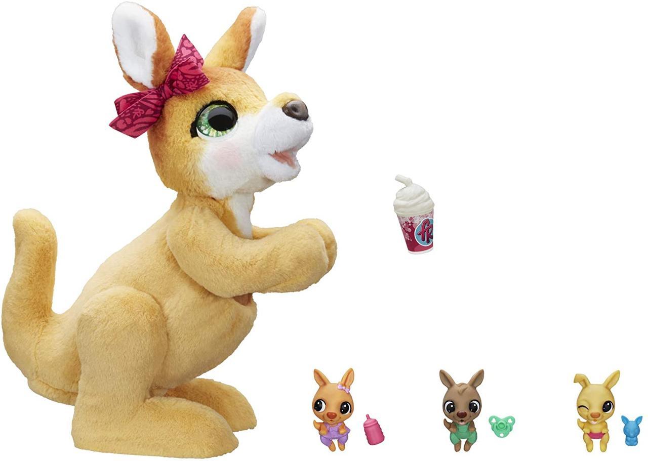 Интерактивная игрушка кенгуру Мама Джози furReal Mama Josie The Kangaroo Interactive Pet Toy Hasbro