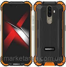 Смартфон водозащищенный со сканером отпечатка пальца Doogee S58 Pro orange 6/64 гб Global (Гарантия 12 мес)