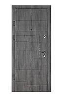 Двери входные металлические Булат К6 LX 850*2050/950*2050 165 дуб шале графит/дуб шале седой
