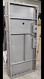 Двери входные металлические Булат К6 LX  850*2050/950*2050 411/190 бетон темный ( вс ДШ графит)/дуб шале седой, фото 7