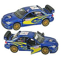 "Машинка KINSMART ""Subaru Impreza WRS"" KT5328W"