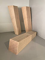 Деревянная мебельная ножка, мебельная опора Ясень 190 мм, фото 1