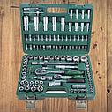 """Автомобильный набор инструментов для авто кейсы. Набор насадок торцевых и бит 1/4"""", 1/2"""" 108шт Grad (6004275), фото 2"""