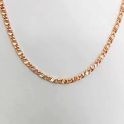"""Цепочка """"Замочки"""" SONATA из медицинского золота, позолота 18К, 31415                               (50 см)"""