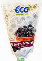Оливки Olives Noires ECO + чорні в'ялені 400 г