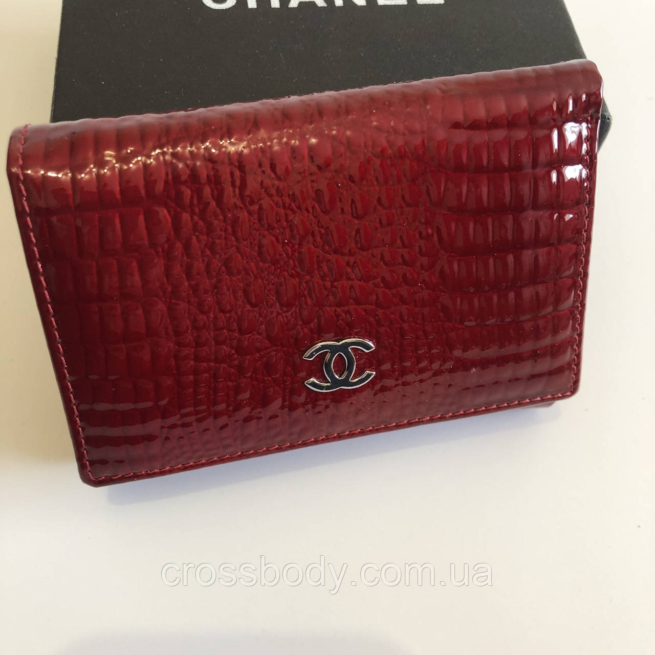Женский кошелек кожа Chanel 052B