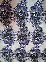 Ткань с цветочком фиолетовый цветок (уценка, сток, распродажа склада 50% от цены! Николаев ) 10 метров*150 см