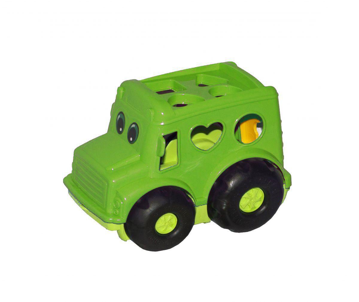 Сортер-автобус Бусик №1 зеленый 0244