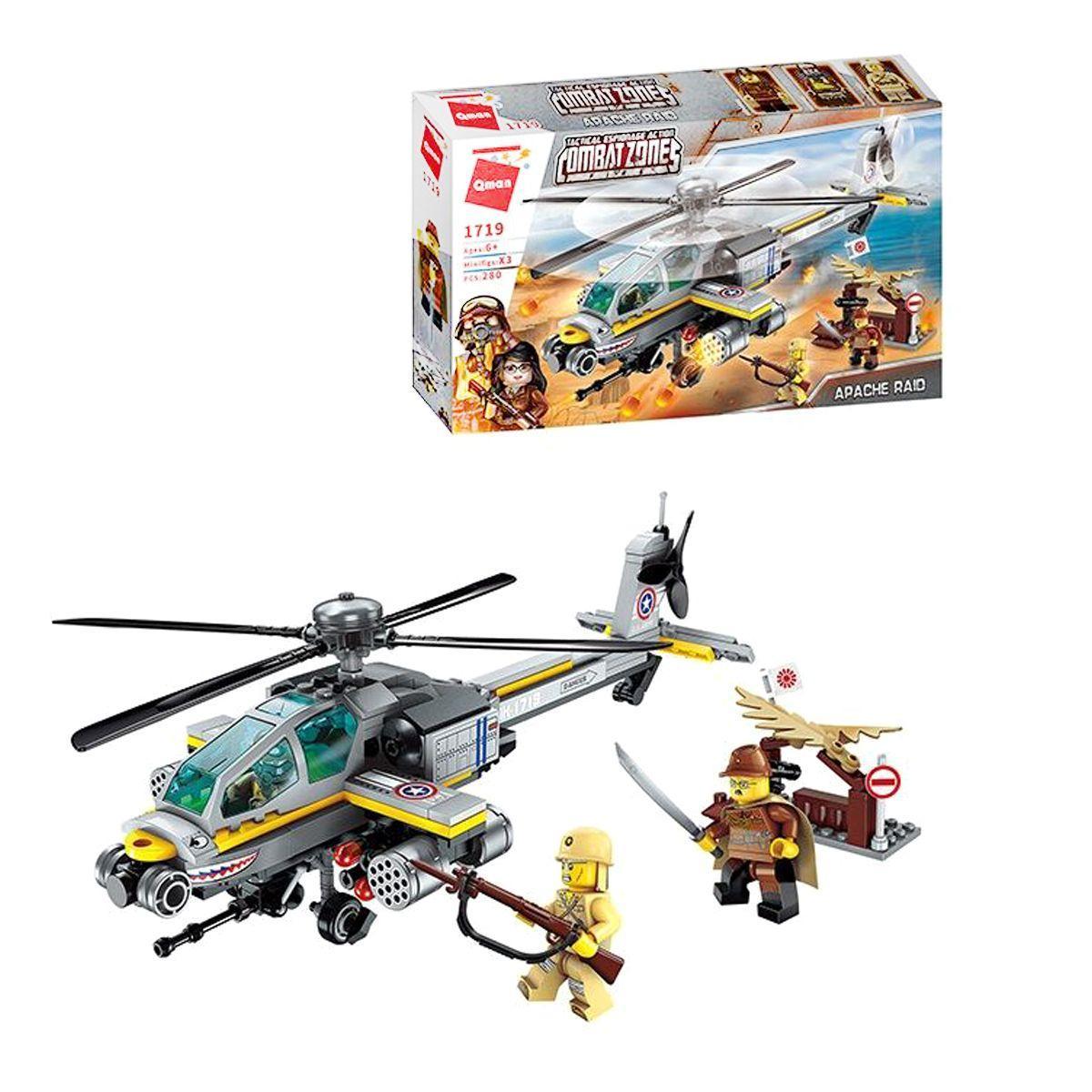 """Конструктор Brick """"Вертолет"""" 280 деталей 1719"""