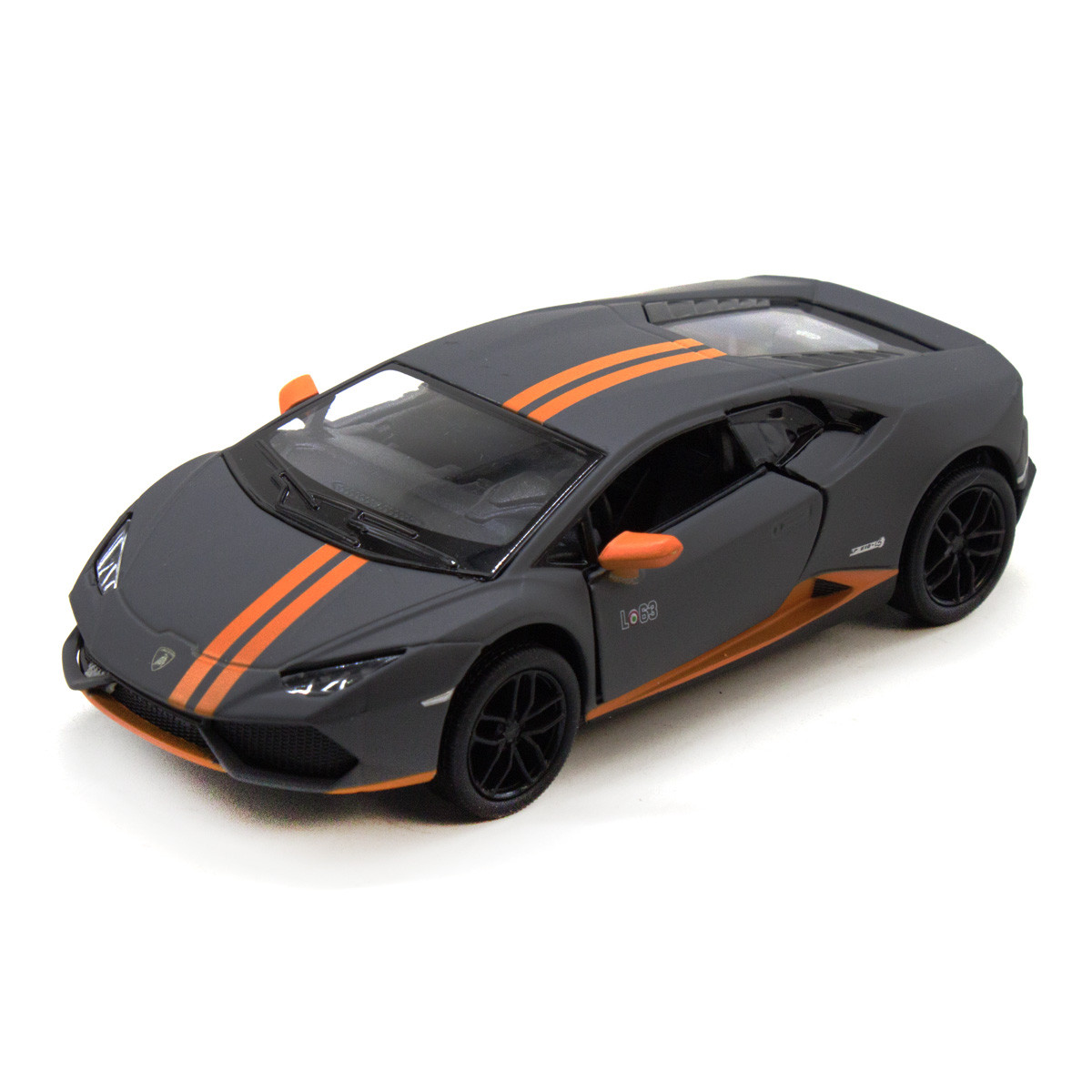"Машинка KINSMART ""Lamborghini Huracan LP610-4"" (серая) KT5401W"