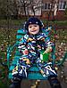 Комбинезон детский демисезонный АБСТРАКЦИЯ, фото 3