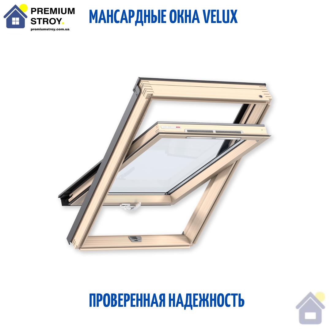 Мансардное окно Velux (Велюкс) GLL 1061B MK06 78*118