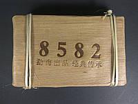 Чай шен пуэр зеленый Menghai Tea рецепт 8582 бамбук 250 грамм, фото 1