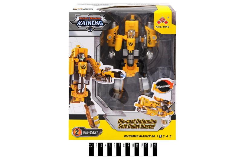 """Трансформер бластер """"KAINENG"""" (жёлтый) SB452"""