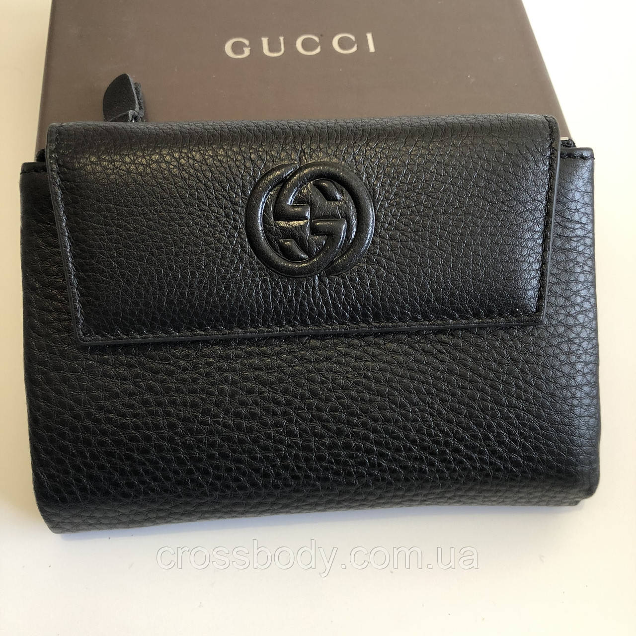Женский кошелек кожа Gucci  056B-A