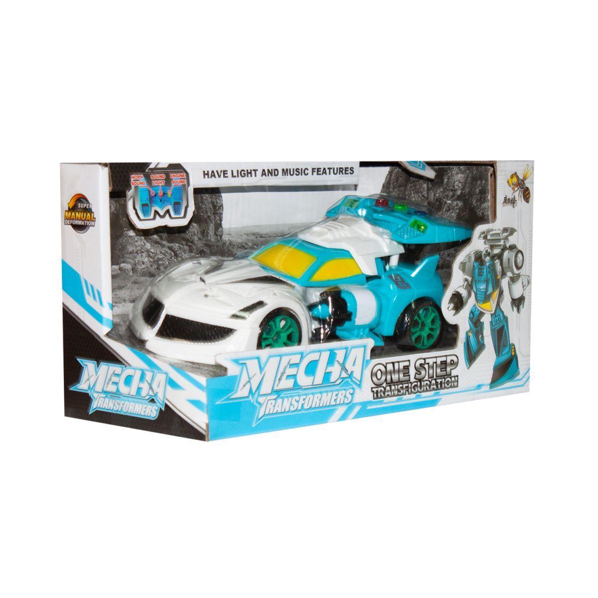 Трансформер Mecha: Машина желто-синий D622-H046A