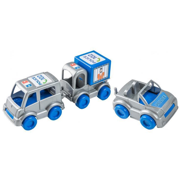 """Набор машинок """"Kid cars Полиция"""" 39548"""