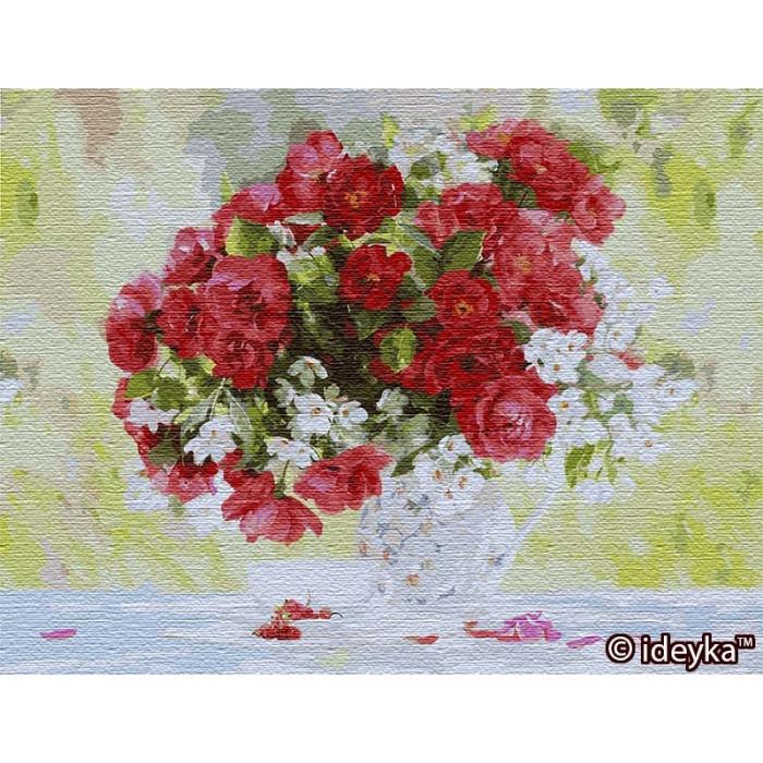 Картины по номерам Идейка 50х65 см Цветущее удовольствие (big) (КНО13118)
