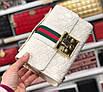 Женская кожаная сумка клатч Gucci Гуччи, фото 10