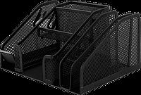 Настольный прибор buromax bm.6241-01 black металлический