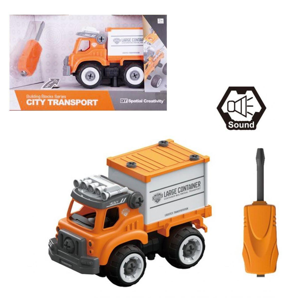 """Машинка-конструктор """"Грузовик"""", 30 дет CJ-1379225"""