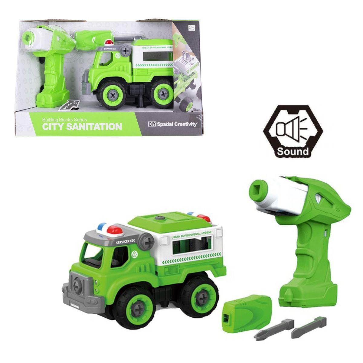 """Машинка-конструктор """"Полиция"""", 31 дет CJ-1365123"""