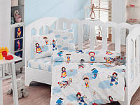 """Детское постельное бельё в кроватку Cotton Box ранфорс """"Masal Dunyasi"""""""