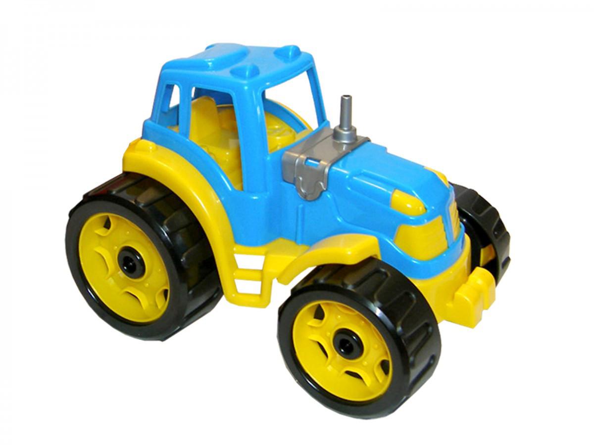 Трактор ТехноК (синий) 3800
