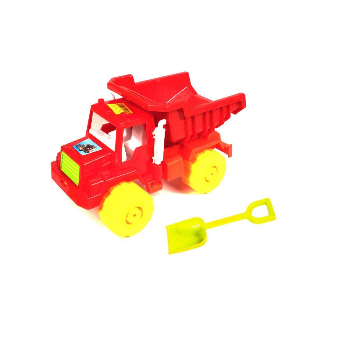Машина КРАЗ самосвал  красный. 05-508