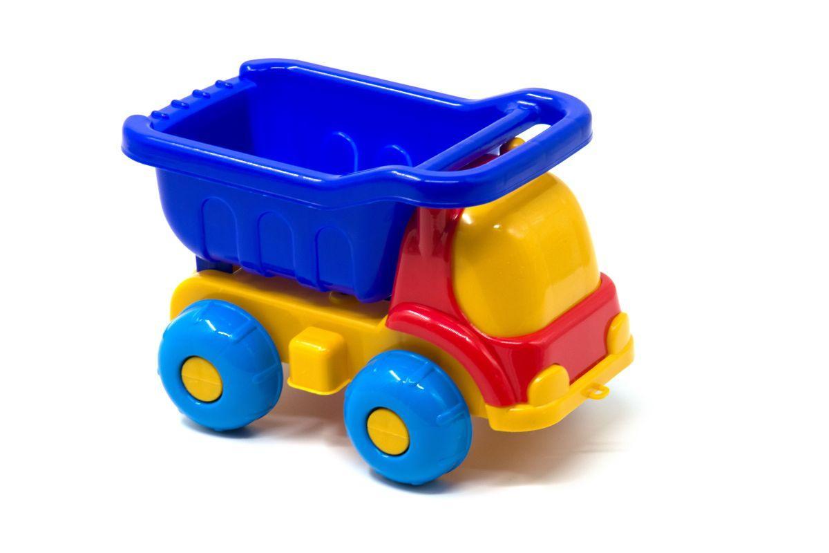 Машинка-грузовик Пчелка синий 0015