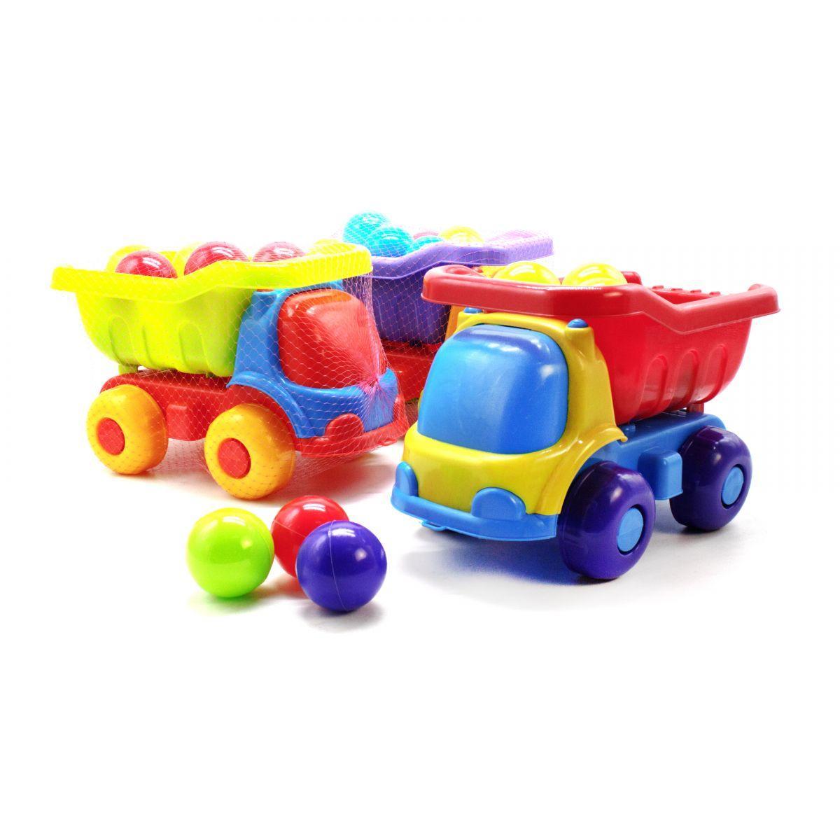 """Машинка пластиковая """"Шмелек"""" с 12 шариками KW-07-720-4"""