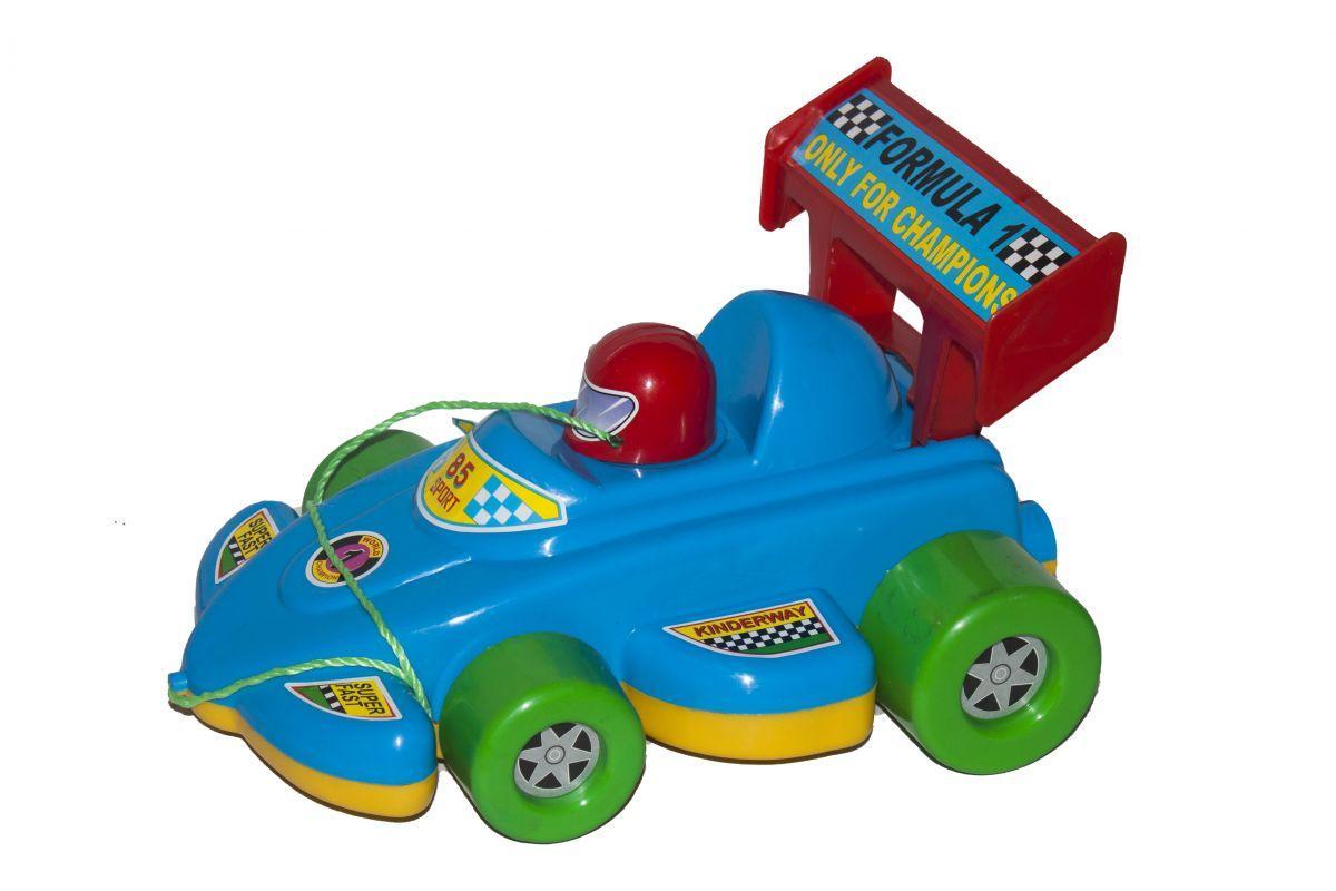 """Каталка """"Гоночная машина"""" (синяя) KW-06-604"""