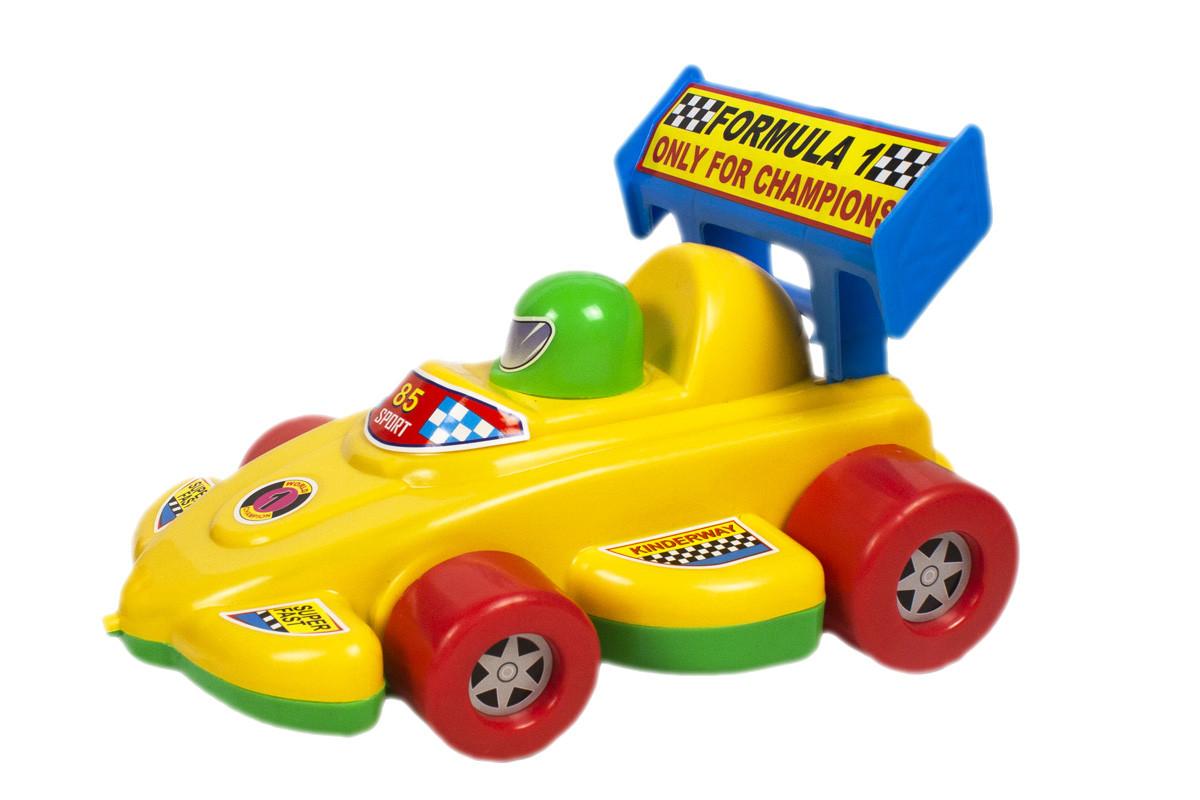 """Каталка """"Гоночная машина"""" (желтая) KW-06-604"""