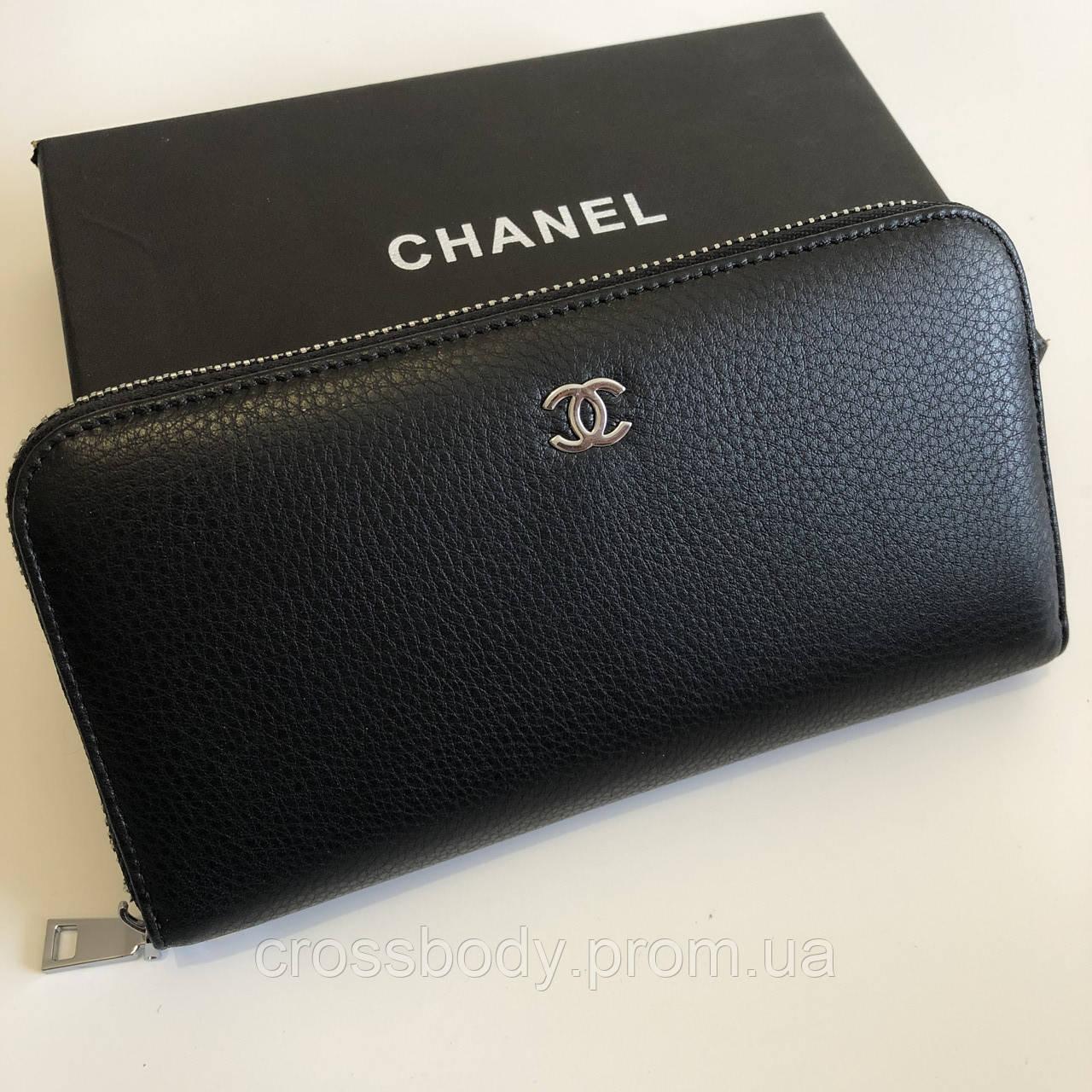 Женский кошелек кожа Chanel 5102-A