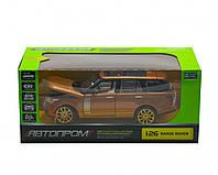 """Машинка """"Range Rover"""" из серии """"Автопром"""", звук, свет (оранжевая) 68263A"""