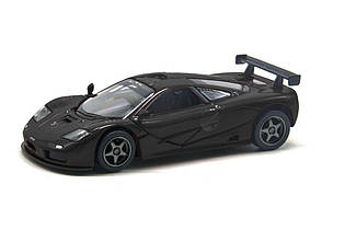 """Машинка KINSMART """"1995 McLaren F1 GTR"""" (чёрный) KT5411W"""