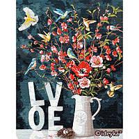 Картины по номерам Идейка 50х65 см С любовью (big) (КНО13119)