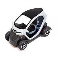 """Машинка KINSFUN """"Renault Twizy"""" (белая) KT5111W"""