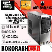 Системний Блок Intel DX58s0 \ Tower \ Intel core i7-1gen \ DDR3-8GB \ HDD-320GB (к.00101095), фото 1