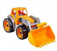 Трактор с ковшом Технок (оранжевый) 1721