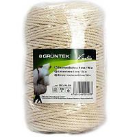 Шпагат коттоновый Gruntek Cotton twine 3 мм*150 м