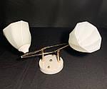 Люстра Припотолочная на 2 лампи в білому кольорі