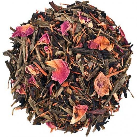 Чай Зеленый Рассыпной Чай Катуаба крупно листовой Tea Star 250 гр Гермния