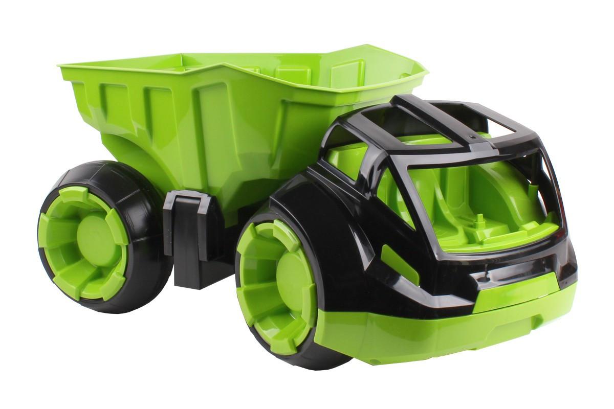 Машинка Самосвал, зеленый 6238